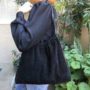 Vintage black Rosanna Nichole leather bag